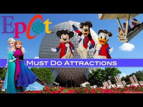 Epcot's Must Do Attractions 2019